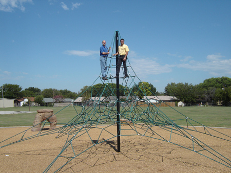 <h2>Old Fashioned Playground Equipment Made Safer</h2>